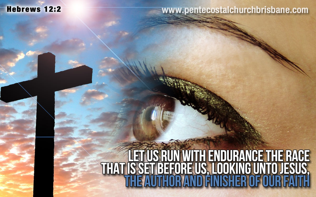 Sermon on Hebrews 12 1 3 http://www.pentecostalchurchbrisbane.com/en/resources/video-sermons/389-jesus-the-author-and-finisher-of-our-faith-pastor-roberto-san-martin