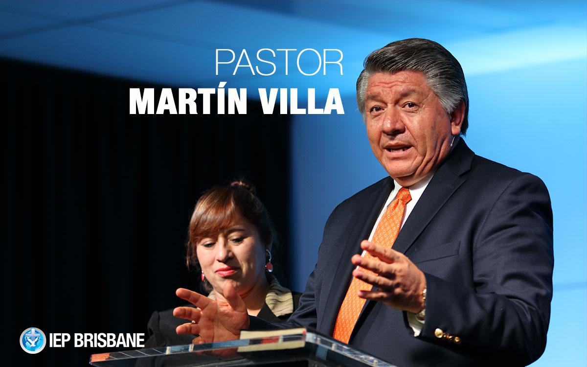 Hombres de Fuerza, Firmeza y Agilidad, Pastor Martín Villa