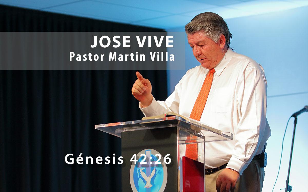 José Vive - Pastor Martín Villa
