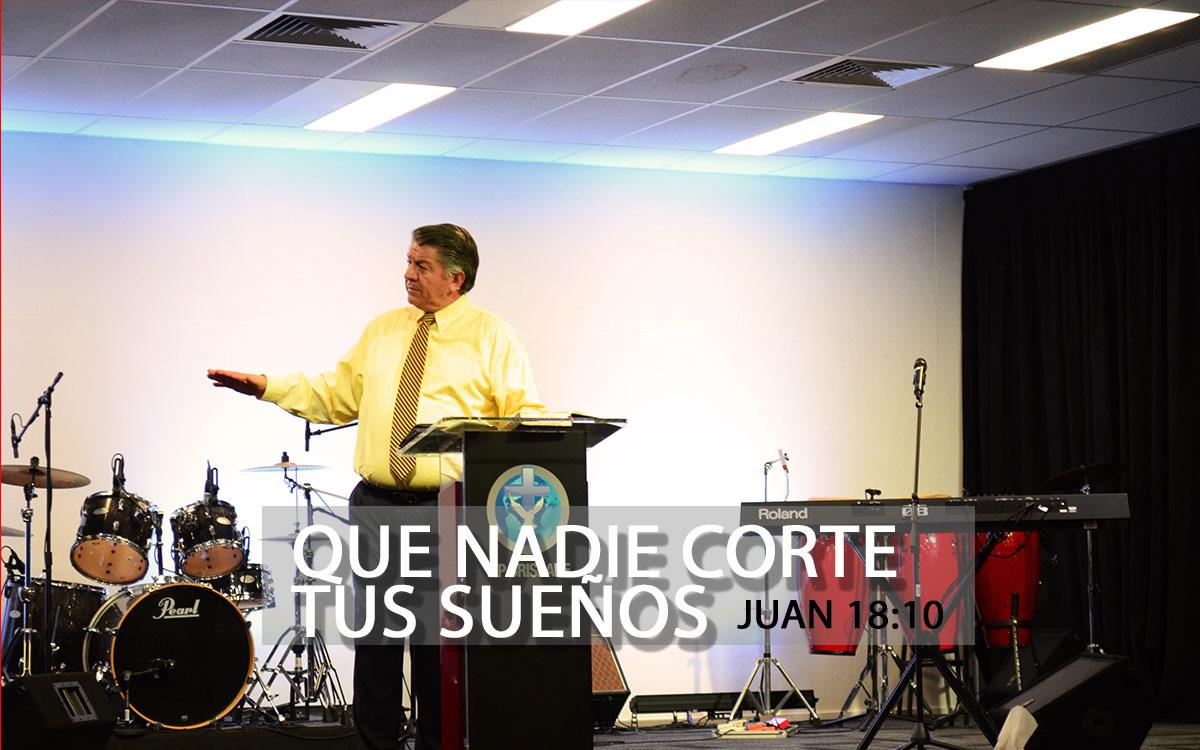 Que nadie corte tu sueño - Pastor Martín Villa