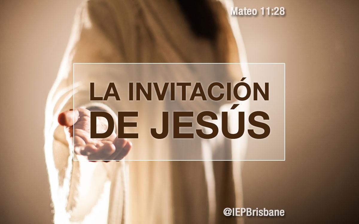 La invitación de Jesús