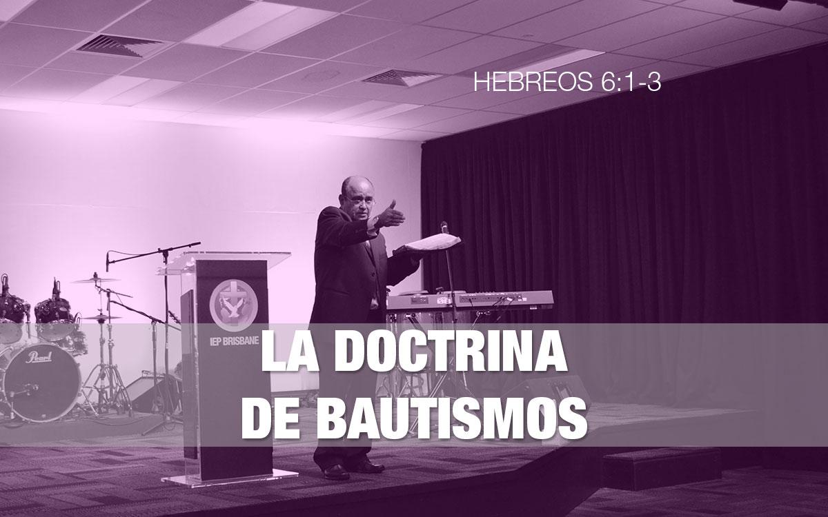 La Doctrina de Bautismos